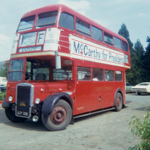 1968 London double decker Unitrans bus