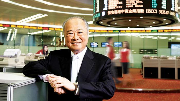 """Sir Chung-Kong """"CK"""" Chow"""