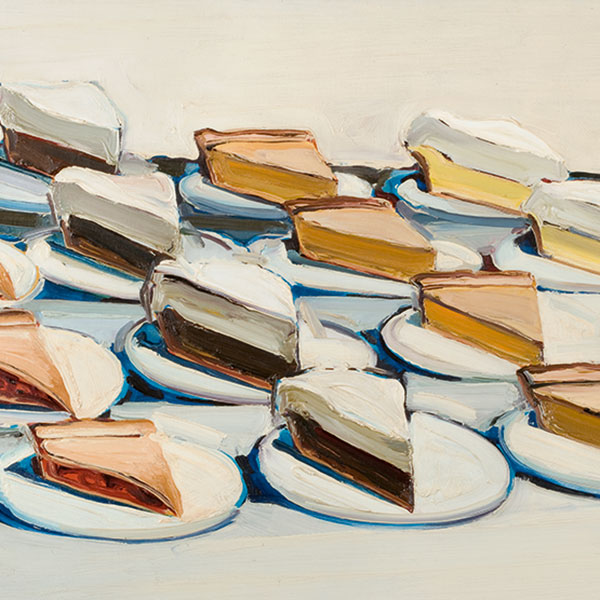 Wayne Thiebaud Pies 1961