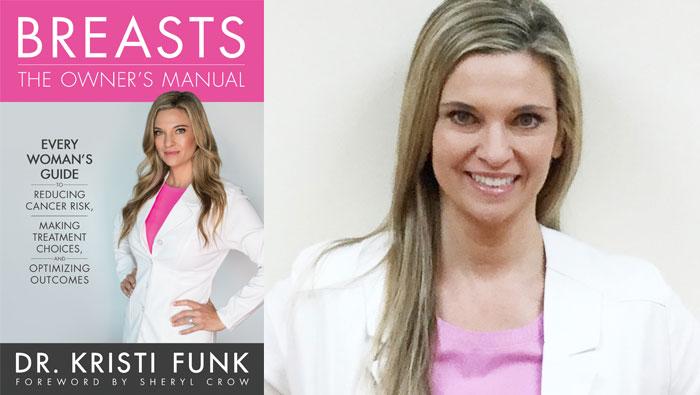 Kristi Funk and book jacket