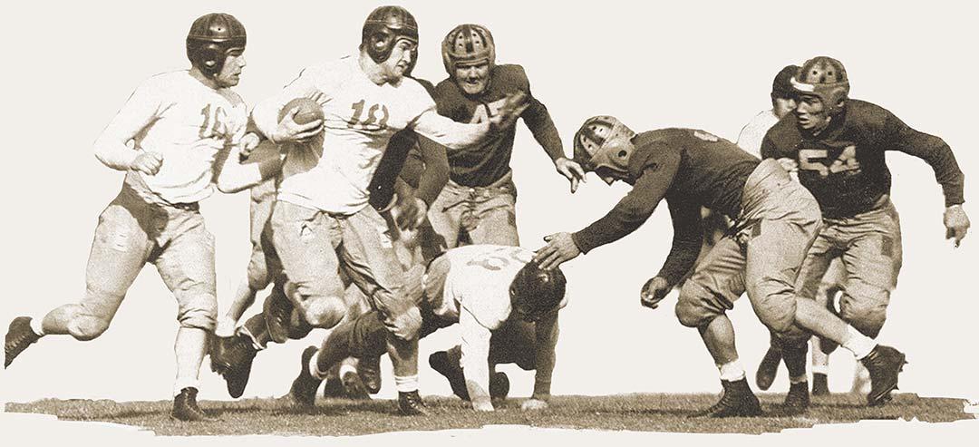 1930s football players