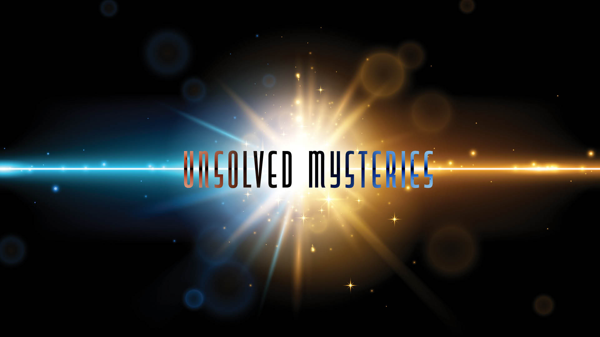 Graphic Header: Unsolved Mysteries