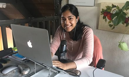 Student Podcaster Spotlights Problem Solvers