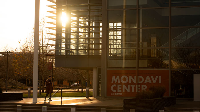 Mondavi Center at sunset