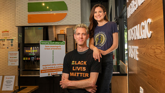 Phil and Danea Horn own Burger Patch