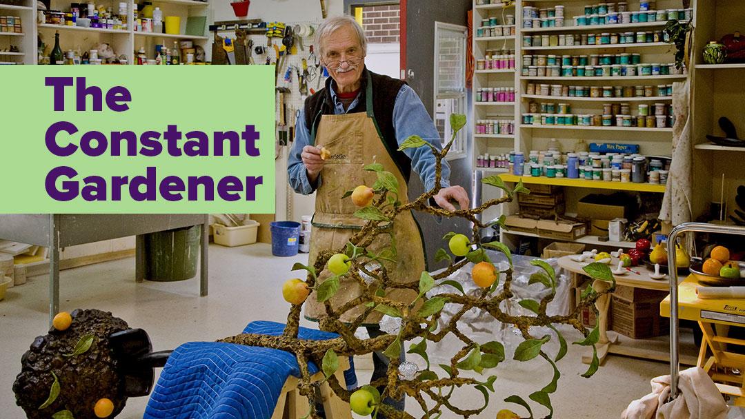 The Constant Gardener: Victor Cicansky in his studio