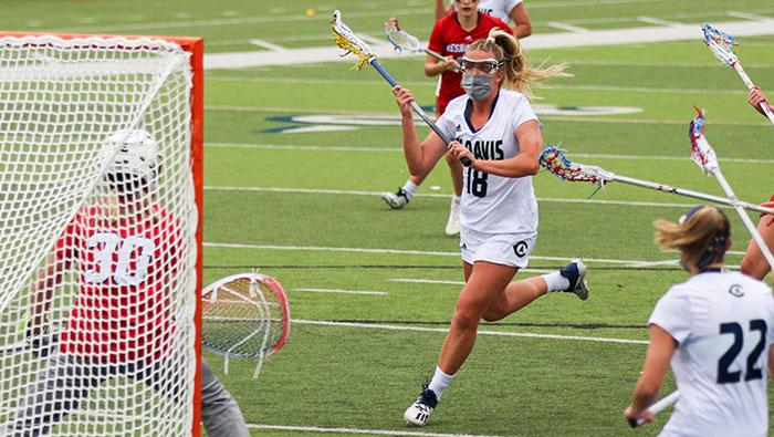 UC Davis lacrosse player Kendall Seifert
