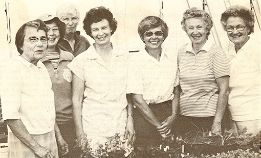 Founders of the Friends of the Arboretum and Public Garden, circa 1980s
