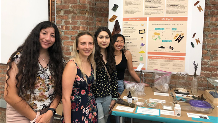 Students created the BioBandage in 2019