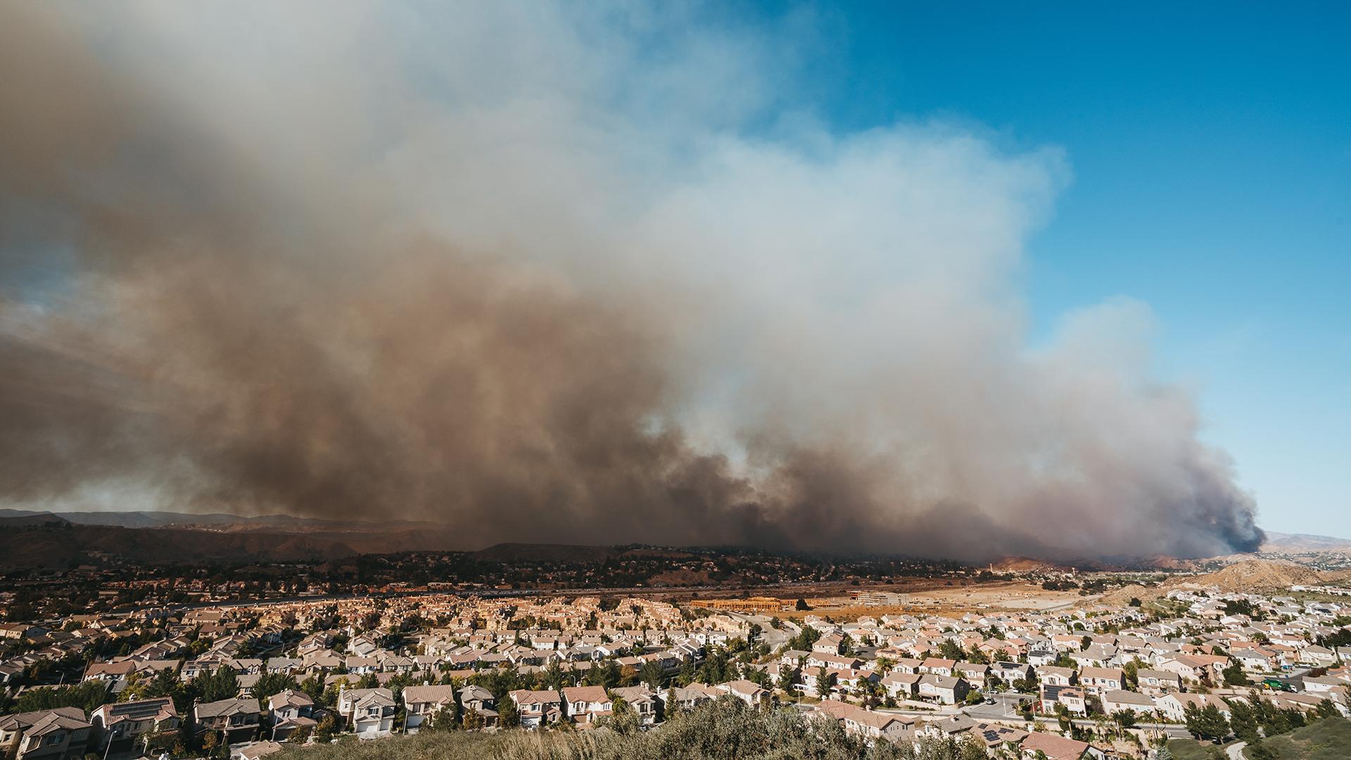 Tick Fire near Los Angeles